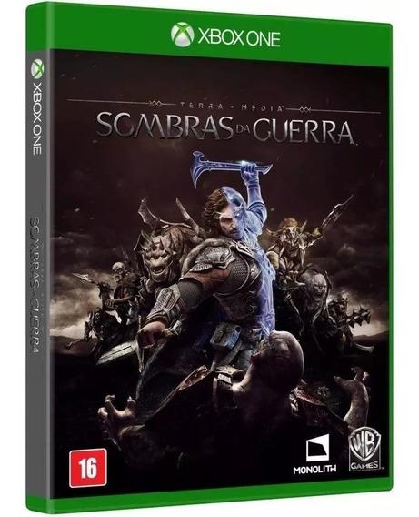Sombras Da Guerra Xbox One - Mídia Física Lacrada - Nacional