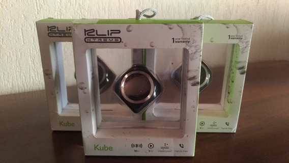 Caixa De Som Portátil Klip Xtreme Bluetooth Kws-603 Kube