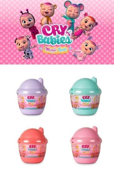 Mini Cry Babies Bebes Llorones Magic Tears Sorpresa