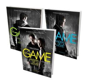 Livro Trilogia The Game 3 Livros Darkside - Frete Grátis