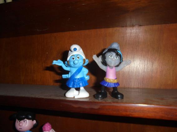 Os Smurfs O Filme Lote Com Dois Personagens Preço Pelo Lote