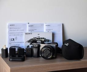 Câmera Sony A6000 + Lente 16-50mm