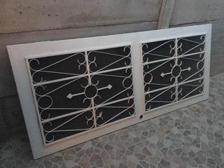 Puerta De Hierro Con Vidrio Tintado. Negociable!