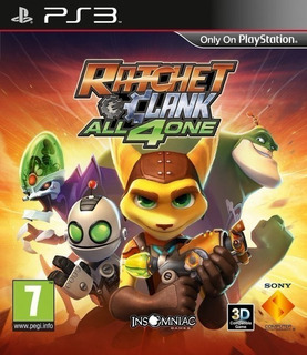 Ratchet & Clank All 4 One ~ Ps3 Digital Español