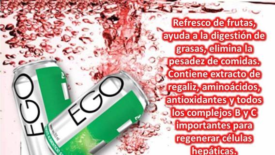 Ego Frutas Omnilife (higado) Venta Por Six Pack 6 Unidades