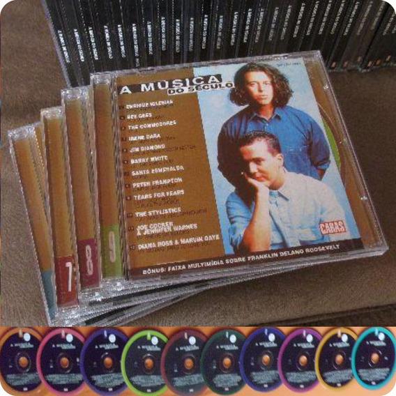 Coleção: A Música Do Século - 35 Cds Originais Frete Gratis