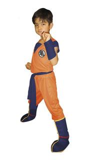 Disfraz Goku - Niños 8 A 9 Años - Dragon Ball Z - Pronobel
