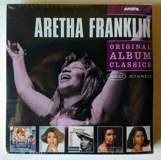 Aretha Franklin Original Album Classics 5 Cd Box Set Nuevo
