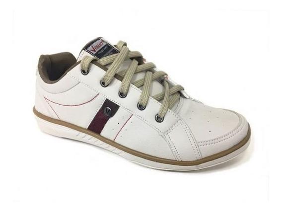 Sapatos Masculinos Promoção Casual Sapatenis Visun 9200 Novo
