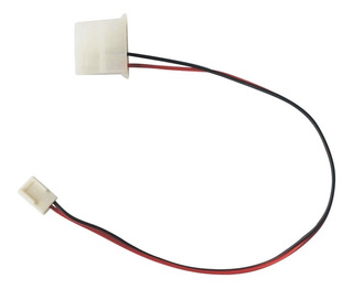 Adaptador Molex Hembra A Fan De 3 Pin Para Ventilador Cpu
