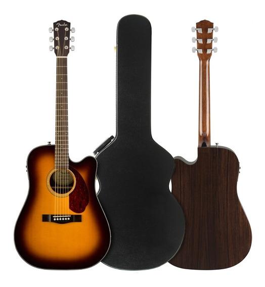 Guitarra Electroacustica Fender Cd-140sce Dreadnought Abeto