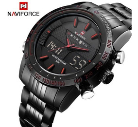 Relógio Esportes Ana-digi Cronógrafo Naviforce Nf9024b