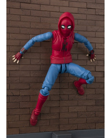 Spider-man Homemade Suit Figuarts Bandai - Original Lacrado