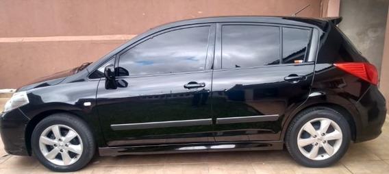 Nissan Tiida Sl 1.8 Teto/couro/automático - Excelente!!!