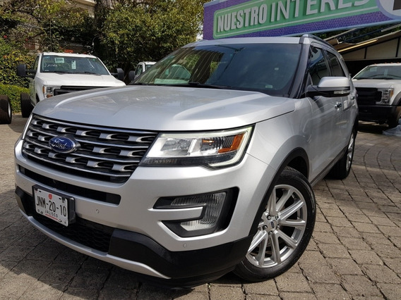 Ford Explorer 3.5 Limited Fwd Mt 2017 Credito