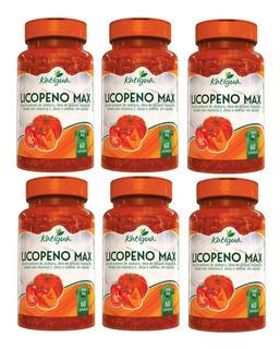 Licopeno Max 6 X 60 Cápsulas 1000mg - Katigua