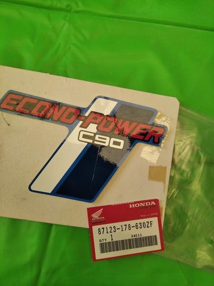 Honda C90 Calco Cacha Derecha Original 87123-178-639zf