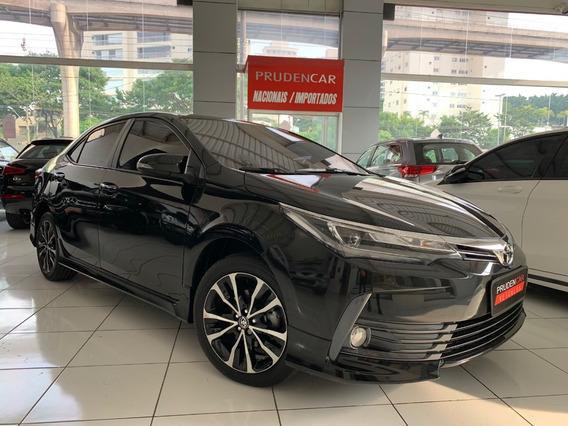 Toyota Corolla 2.0 Xrs Flex 2019 Preto Blindado