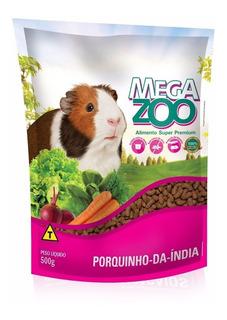 Mega Zoo Super Premium Para Conejillo De Indias,cobayo 500gr