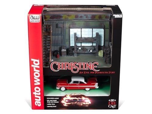 Diorama Plymouth Fury 1958 Christine Autowold 1:64