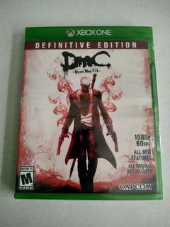 Devil May Cry Definitive Edition Xbox One Nuevo Envio Gratis