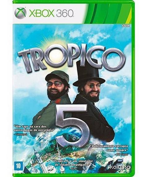 Trópico 5 Xbox 360 Jogo Original Lacrado Mídia Física