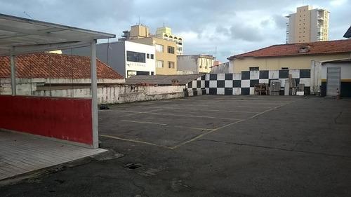 Terreno Para Alugar, 500 M² - Jardim Do Mar - São Bernardo Do Campo/sp - Te4292