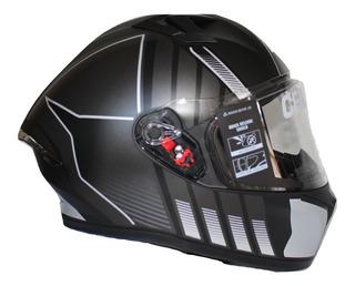 Cascos Moto Ich 503 Gleri Xl Certificado + Obsequios