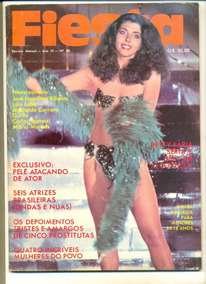 *sll* Revista Fiesta N 26 - Betty Faria / Pelé - Abril 1978