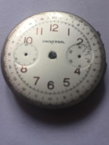 Universal Compax Maquina De Relogio De Pulso.