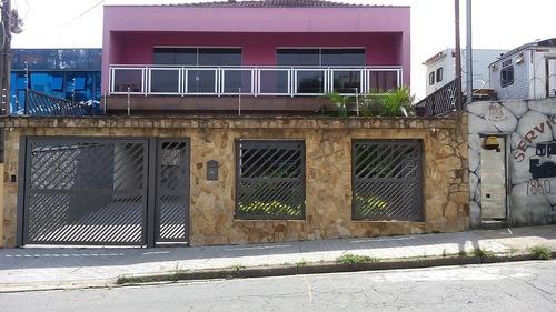Imagem 1 de 28 de Excelente Sobrado À Venda 4 Dormitórios, 8 Vagas - Santa Maria - Santo André  - 50426