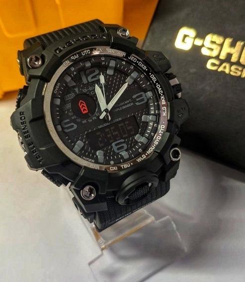 G-shock Mudmaster Preto- Linha Gold A Prova D