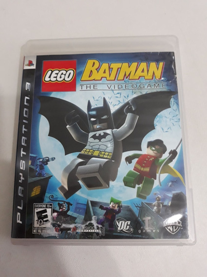 Lego Batman The Video Game Ps3 Mídia Física