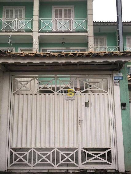 Sobrado 3 Suítes   5 Vagas, Vila Carmosina, São Paulo. - So0421