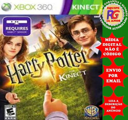 Harry Potter For Kinect - Xbox 360 - Midia Digital Original
