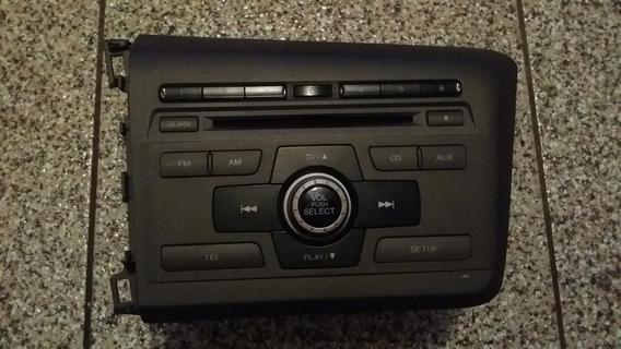 Rádio Honda New Civic De 2012 A 2014 39100-ts0-m01
