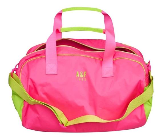 Bolsa Abercrombie & Fitch Pink 100% Original E Importada