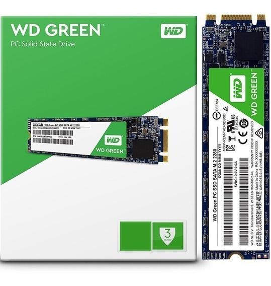 Ssd Western Digital Wd Green Wds120g2g0b 12