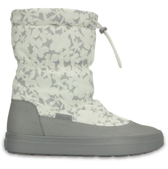Bota Original Crocs Lodgepoint Pullon Boot - Mujer