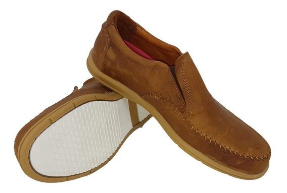 Zapato Náutico 100% Cuero Foot Notes Vs Colores Cod. 239