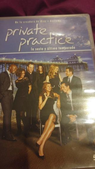 Serie En 3 Dvds, Private Practice Sexta Y Ultima Temporada