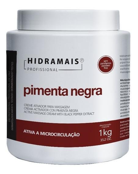 Creme Pimenta Negra 1kg Hidramais