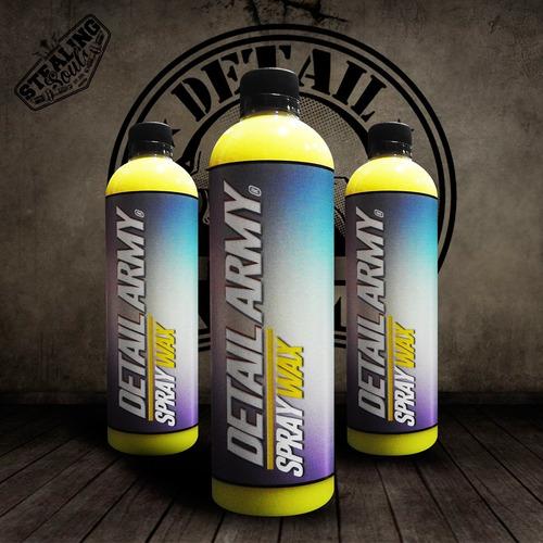 Detail Army | Spray Wax | Cera Rapida Con Carnauba Natural