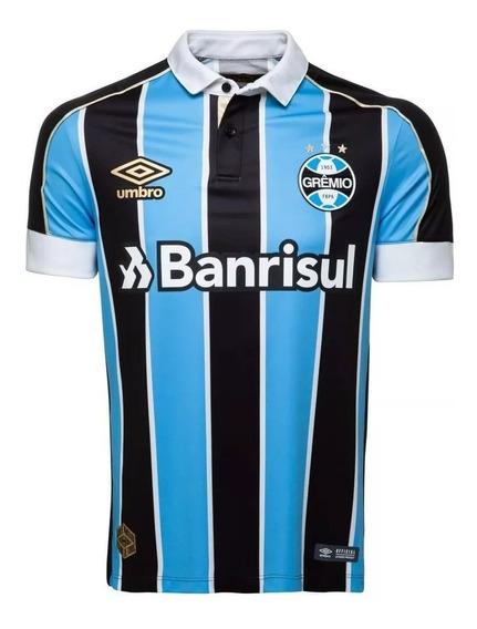 Camisa Grêmio 2019/2020 Oficial Tricolor Número 10