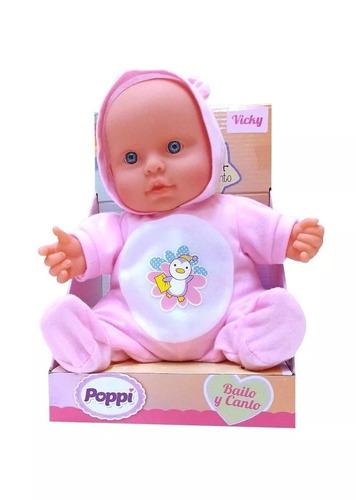 Bebe Bailarin Bebote Poppi Canta Bailarin 23cm Vicky O Tomy