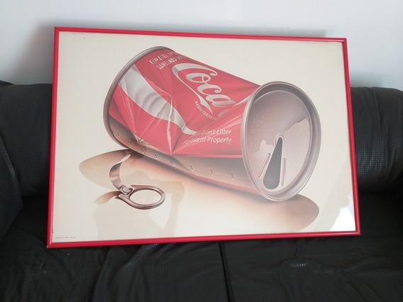 Coca Cola Cuadro, Cartel, Publicidad