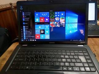 Laptop Compaq Hd 320gb Led16 Impecable Oportunidad!