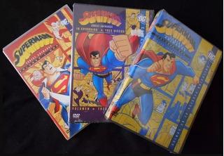 Superman Animated - Completo *colecionador Dvd