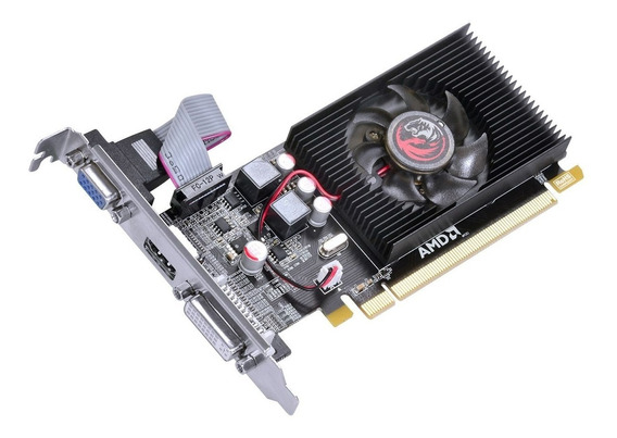 Placa De Video Radeon Hd 6450 2gb Ddr3 64bits Pci-e 2.0 + Nf