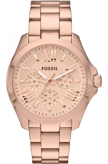 Relógio Fossil Am4511 Rose